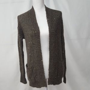 3/$20 Express sequined cardigan